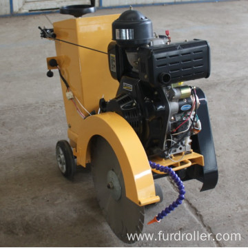 Manual Diesel Engine Used Asphalt Concrete Road Cutter Machine For Cutting Pavement FQG-500C