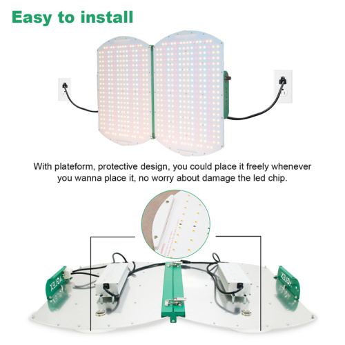 Aglex Foldable 6000K Flowering LED Grow Light