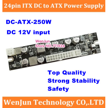 High Power 250W DC 12V input ATX Peak PSU Pico ATX Switch Mining PSU 24pin MINI ITX DC to Car ATX PC Power Supply For Computer
