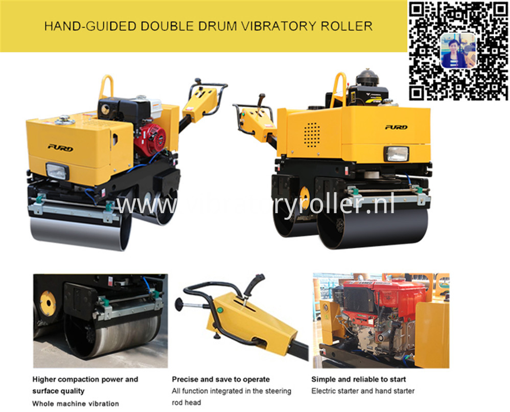 Vibratory Roller Compactor