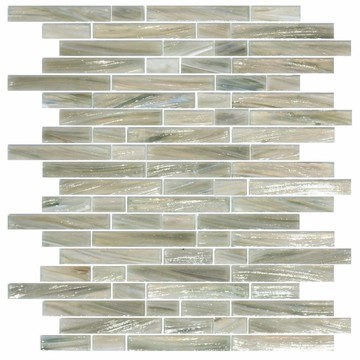 Long strip subway series ice texture mosaic tiles