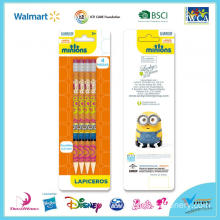 Minions 4 Piece Mechanical Pencil Set