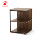 At Home Small Square Wood Coffee Table