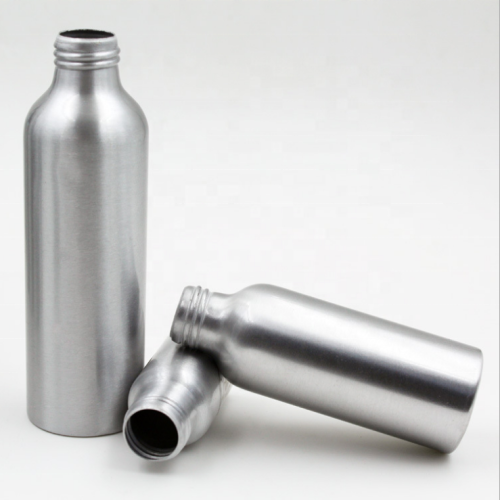 Aluminum Cosmetic Pump Bottles Essence Liquid Bottles