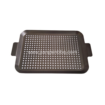 Grill Topper Grilling Pans For Meat Vegetables