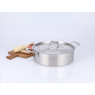 Classic Stainless Steel Stockpot Hot Pot