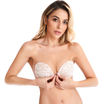 Newest Women Strapless Backless Invisible Silicone bra