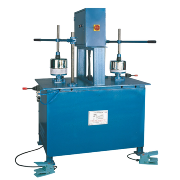 Manual polishing machine for fine polishing of parts