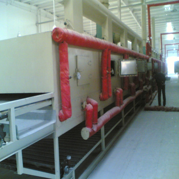 Food Continuous Conveyor Belt Drying