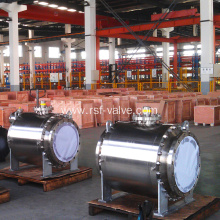 F316 API6D Trunnion Mounted Ball Valve