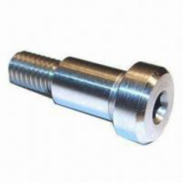 Slotted flat head shoulder screw