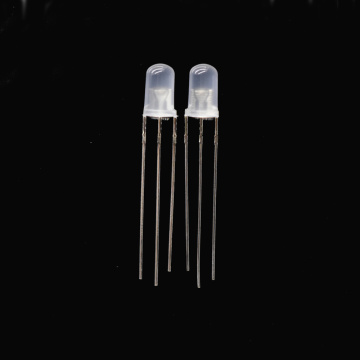 5mm Red & Yellow-green LED Common Cathode Diffused