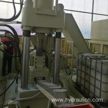 Hydraulic Scrap Copper Iron Aluminum Chip Press Machine