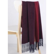 50% Wool 50% Cashmere Woven Throw