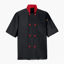 Hotel chef restaurant uniforms black chef uniform