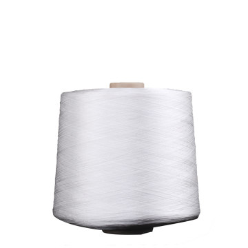 Raw White Polyester Embroidery Thread on cone