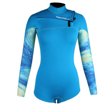 Seaskin 2mm Lady Long Sleeve Spring Suit Wetsuits