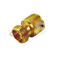 Brass garden hose tap end connector