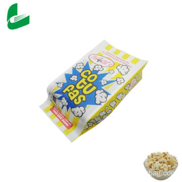 Kraft greaseproof paper bag for microwave popcorn
