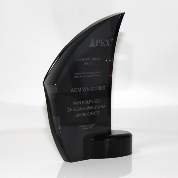 Hot sale acrylic awards and trophies