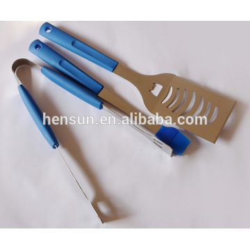 Blue Color Professional Grade Grill Tool Set