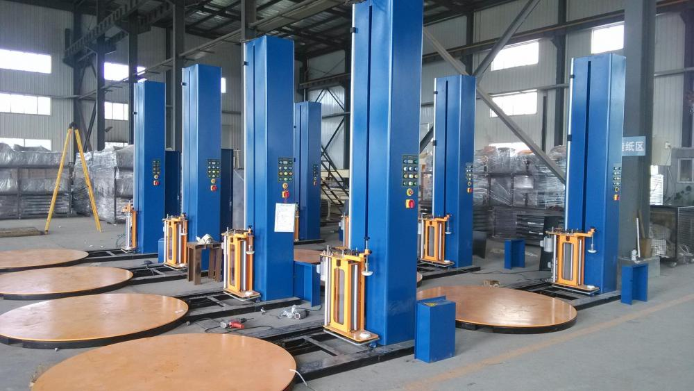 Pallet Stretch Film Wrapping Packaging Machine