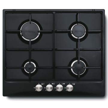 Glem Gas Cooker 4 Burners Ceramic Hobs