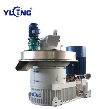 YULONG XGJ560 Palm fiber pellet machine