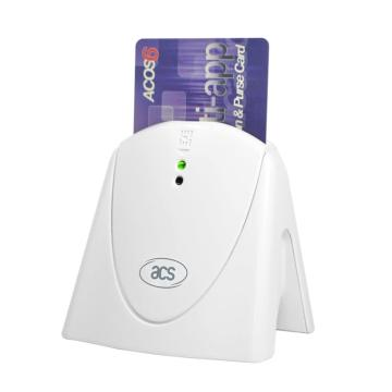 ACR39U-H1 USB CCID Contact CAC Smart Card Reader Writer Support ISO 7816 Class A, B, and C smart cards