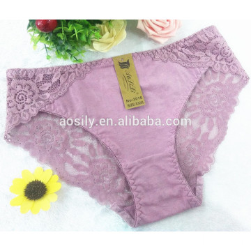 AS-3016 OEM wholesale China women underwear bikini briefs