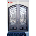 Iron And Glass Front Doors