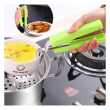 Creative New Picnic Pot Anti-hot Clip Holder Gripper Anti-scraping Lifter for Bowl Plate Dish Pot Kitchen Microwave Oven Tool