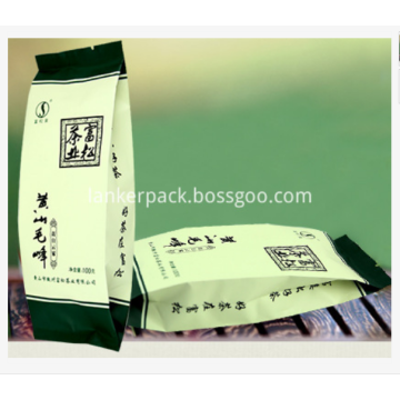 Flexible Fin seal bags Packaging for Tea