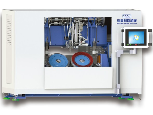 5 Axis Numerical Disc Brush Machine