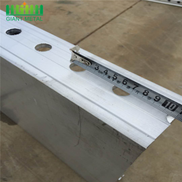 Aluminum formwork for home construction