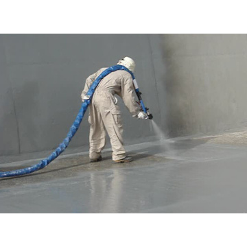 Professional spray polyurea coating Long Life Spraying Polyurea SPUA-90 AB  Courts Sports Surface Flooring Athletic Running Trac