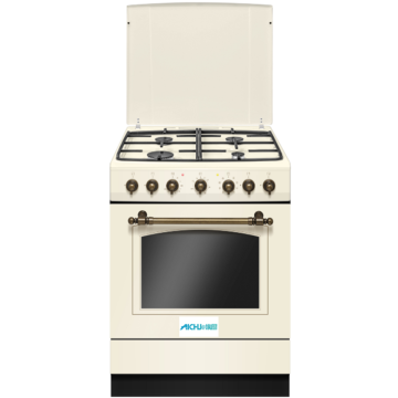 White Freestanding Electric Cooker Electric Oven