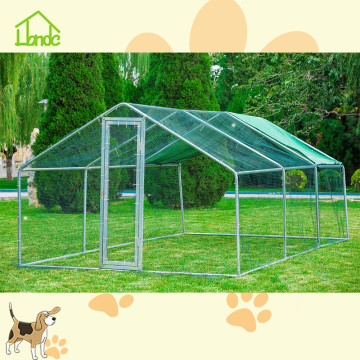 Large metal cages chicken run coop walk In