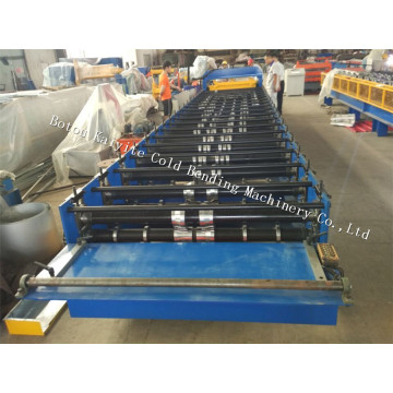 Aluminium Trapezoidal Roof And Wall Panl Machine