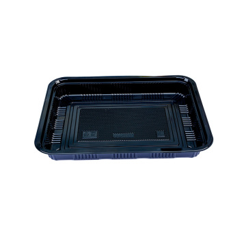 Rectangular PS plastic Sushi Tray for party