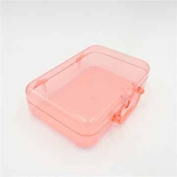 ABS transparent plastic box organizer