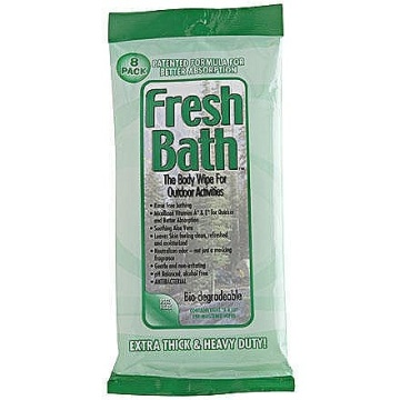 Organic Refreshing Adults Bath Wet Wipes