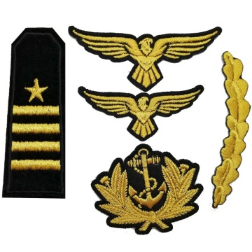 High quality cheap fabric embroidery military patch
