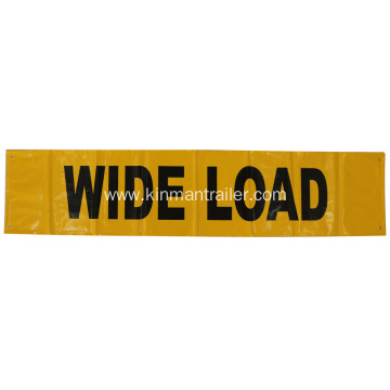 wide load truck banner