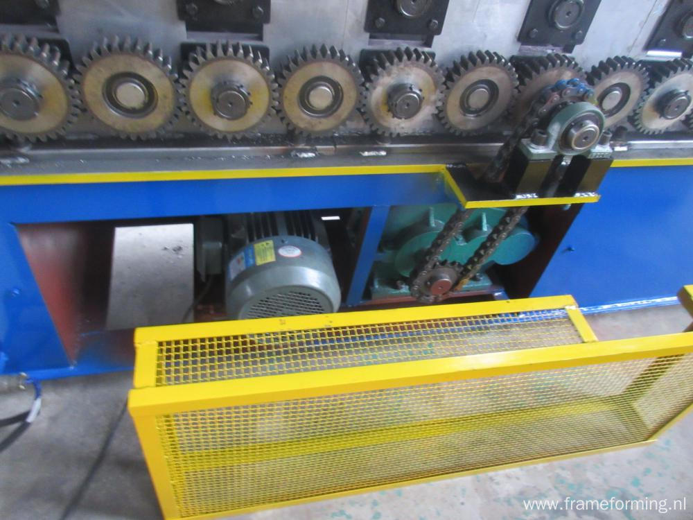 Slotted Uni Strut C Channel Roll Forming Machine