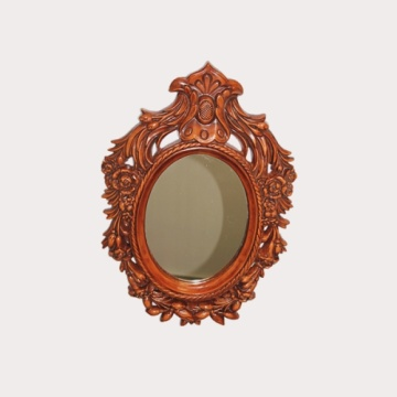 High-grade Retro Woodern Frame vanity mirror