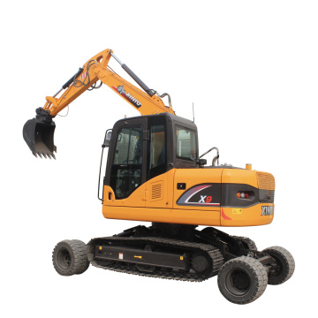 Irene(MB:008615206599185)X9 Wheel Crawler Excavator from factory