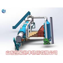 Sawdust Rotary Charcoal Carbonization  Furnace
