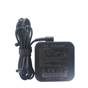 Square Laptop Power Adapter for Asus Computer 19V3.42A