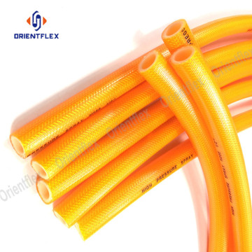 pvc high pressure spray braided hose